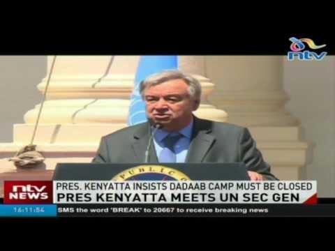 President Kenyatta insists Dadaab camp must be closed