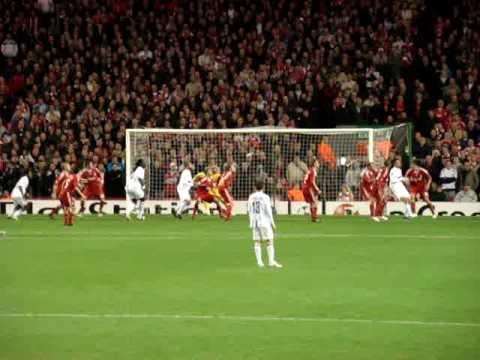 But de gonalons vu des supporters ! Liverpool-Ol