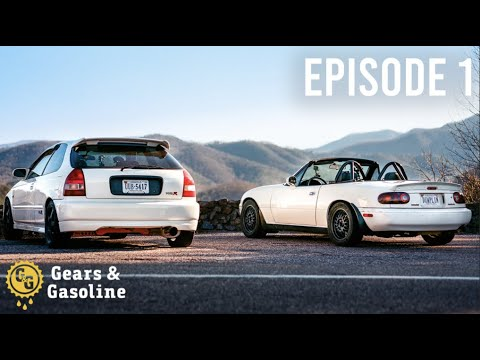 7,000 Mile Roadtrip In A Civic And Miata - Episode 1