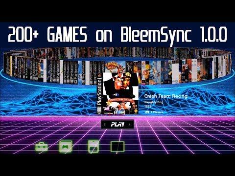 PlayStation Classic Hack testing 200+ Games with BleemSync 1 0 0 & RetroArch