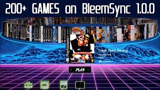 PlayStation Classic Hack testing 200+ Games with BleemSync 1.0.0 & RetroArch