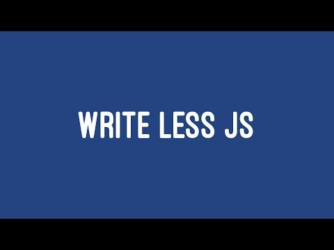 How To Write Less JavaScript - Caleb Porzio