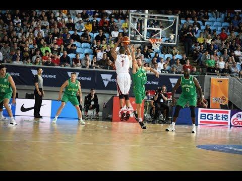 Mizo Amin ( Mohamed Hassan ) Australia vs Qatar FIBA World Cup Qualifiers Game Highlights