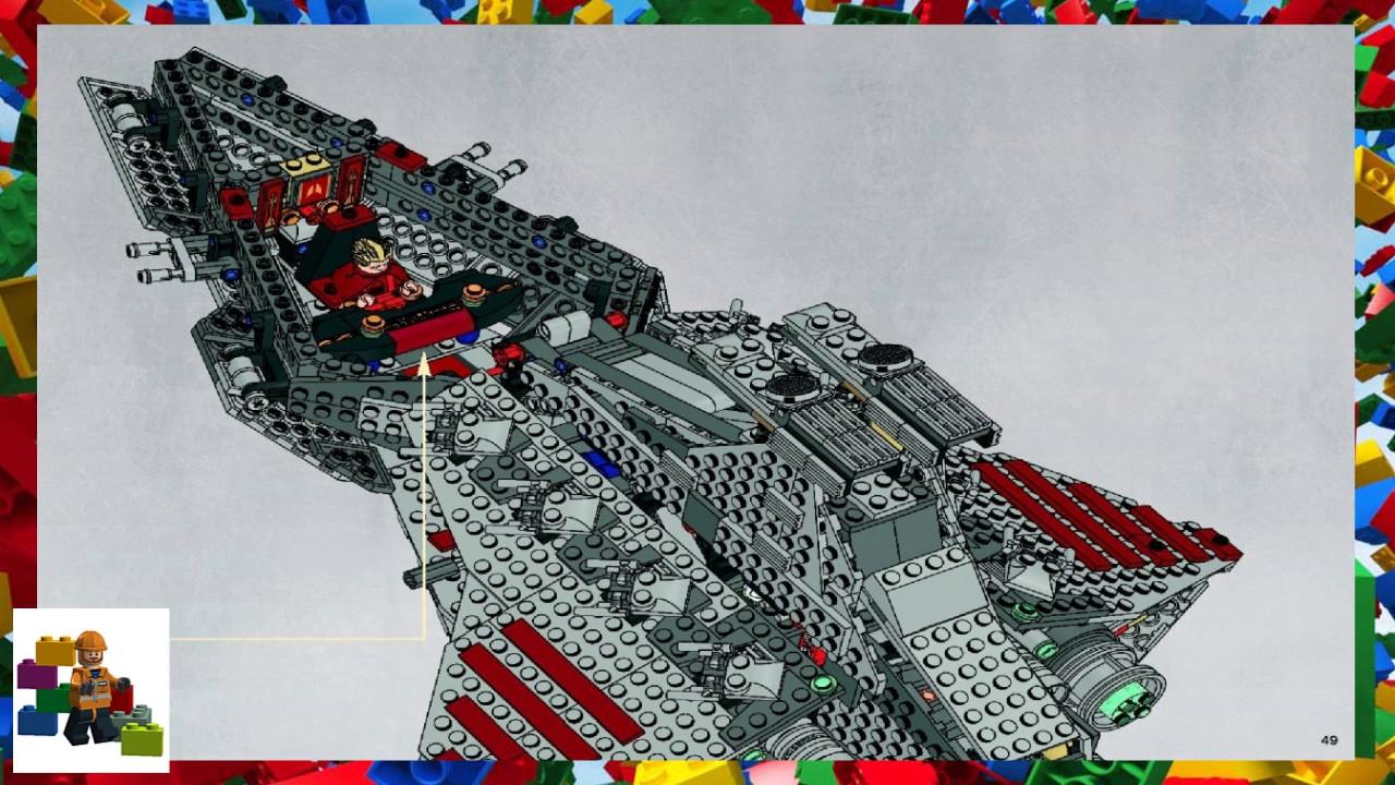 Lego Instructions Star Wars 8039 Venator Class Republic Attack