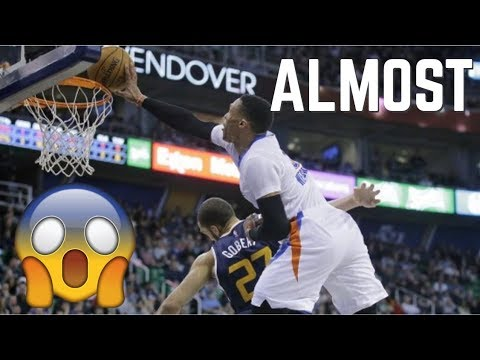 "NBA ""HE ALMOST DID THAT"" Moments (UNBELIEVABLE) ᴴᴰ"