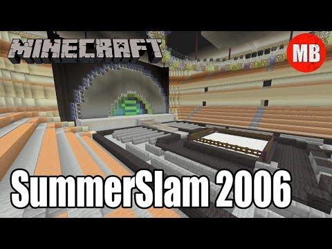 WWE Minecraft Arena | SummerSlam 2006!