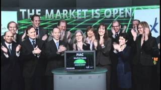 Pension Investment Association of Canada opens Toronto Stock Exchange, February 15, 2012