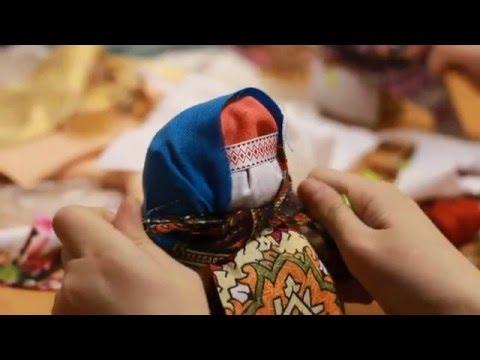 Ролик Мастер класс по созданию куколки Крупеничка