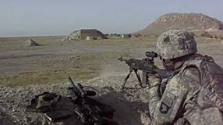 Afghanistan M14 fire at the range