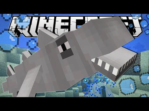 Minecraft | BECOMING A SHARK!! | Custom Command