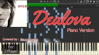 Chords For Once Dealova Instrumental Piano Piano Sheet Synthesia