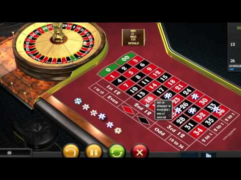 Video Roulette bets explained