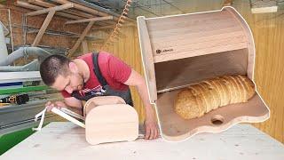 як з фанери зробити хлібницю