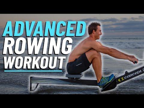 30 Minute ADVANCED Rowing Machine Workout For Weight Loss