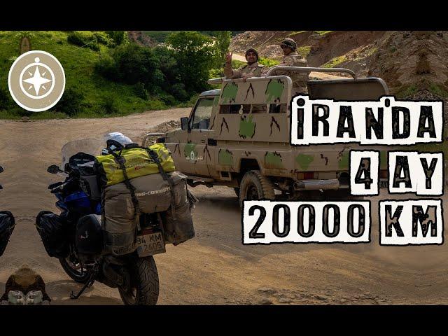 İran'da Motosikletle 4 Ay ve 20.000 km   İran'ın Güzel Yüzü (UNCUT)