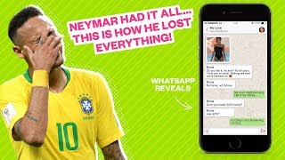 How Neymar lost everything in one single conversation... - Oh My Goal