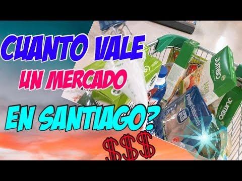 CUÁNTO VALE HACER COMPRAS EN UN SUPERMERCADO DE SANTIAGO DE CHILE???