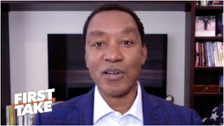 'I paid a heavy price' - Isiah Thomas on the impact of not shaking hands with the Bulls | First Take