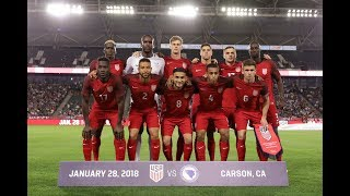 MNT vs. Bosnia and Herzegovina: Jan. 28, 2018