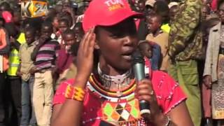 Governor Tunai has promised Maasai's  support for Jubilee Party