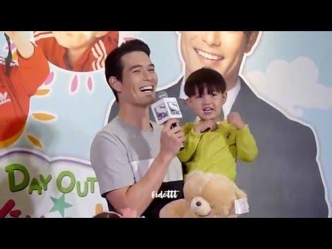 160507 Taeoh's English and EXO KAI bear doll