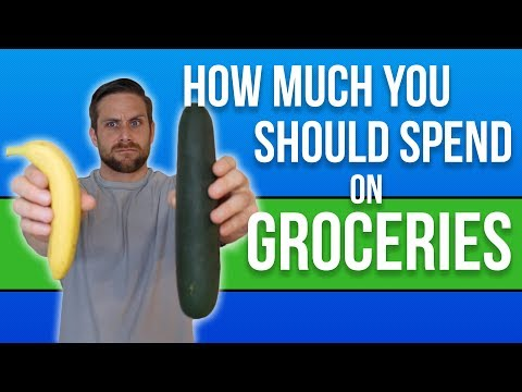 How Much You Should Spend on Groceries? (grocery budget)