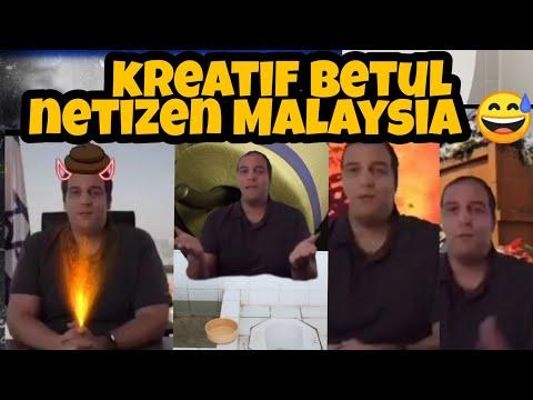 Lawak Israel dah koyak teruk dengan  Netizen Malaysia!!!