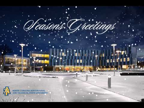 Happy Holidays from North Carolina A&T