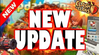 "Clash of Clans - IT'S FINALLY HERE! ""NEW 2015 CLASH UPDATE!"" New Clash Update Gameplay!"