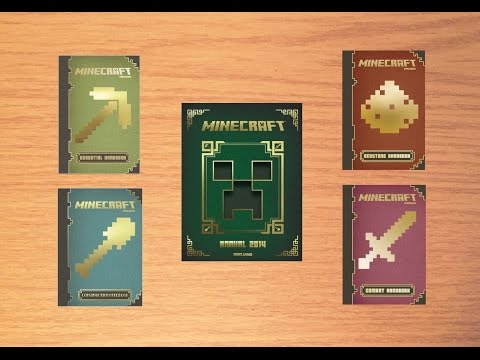 Minecraft Handbooks and Annual 2014 - Review