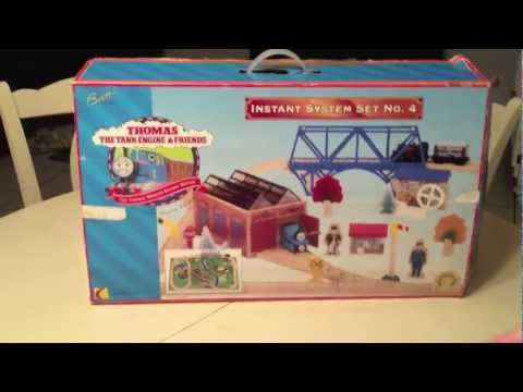 The Rare 1997 Instant System Set #4 - A Thomas The Tank Engine Wooden Railway Toy Review