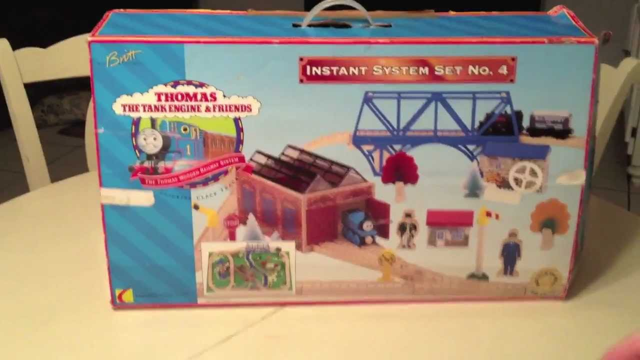 Rare 1997 Thomas The Tank Engine Wooden Train Ada Jane Mabel New In