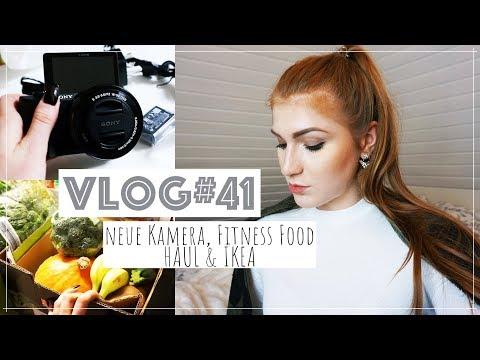 VLOG #41💕NEUE VLOG KAMERA 😍😱💕 FITNESS FOOD & IKEA HAUL