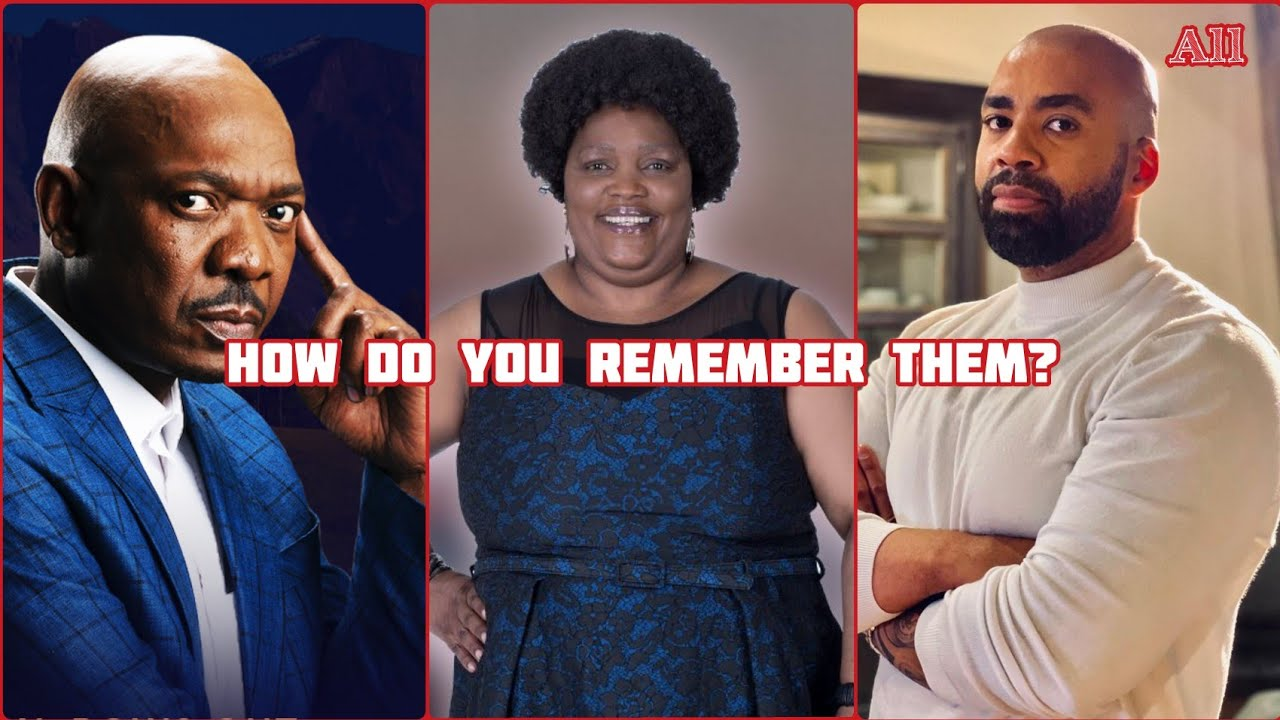 10 South African Celebrities Who Died in 2021: How Do You Remember Them?