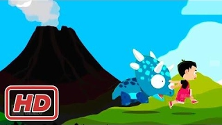 [ Game for Kids ] Kids Learn Safety | Volcano Eruption - Accident Prevention | Safety Knowledge for