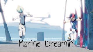 【Yu Gi Oh Zexal MMD】Marine Dreamin'『Kaito Tenjo and Yuma Tsukumo』