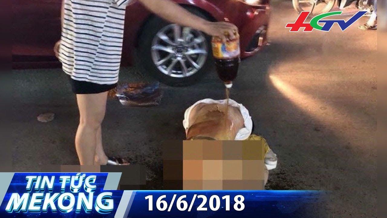 Đánh ghen bằng ớt bột ở Thanh Hóa lên báo nước ngoài | TIN TỨC MEKONG – 16/6/20018
