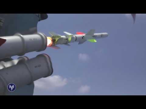 Испытания противокорабельных ракет
