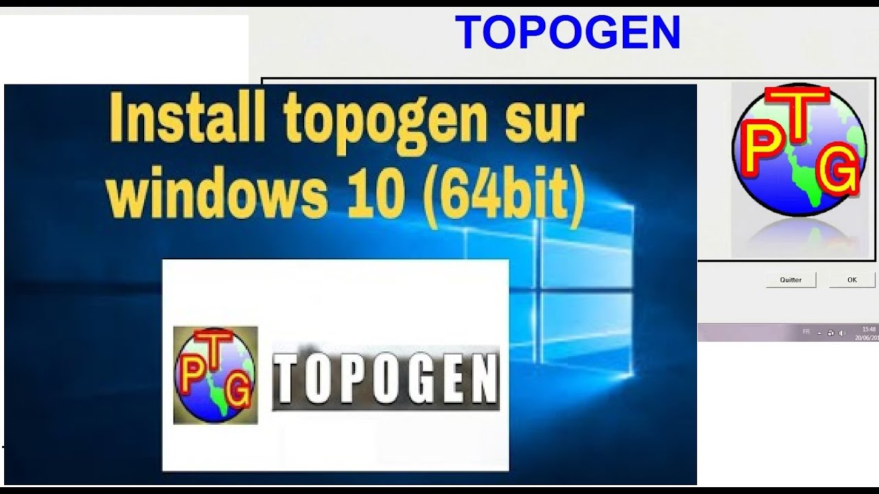 GRATUIT WINDOWS 7 TÉLÉCHARGER TOPOGEN