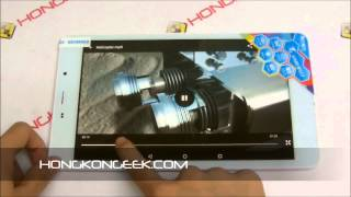 - UNBOXING AND TEST - TACTILE TABLET CUBE T8 ANDROID 5.1