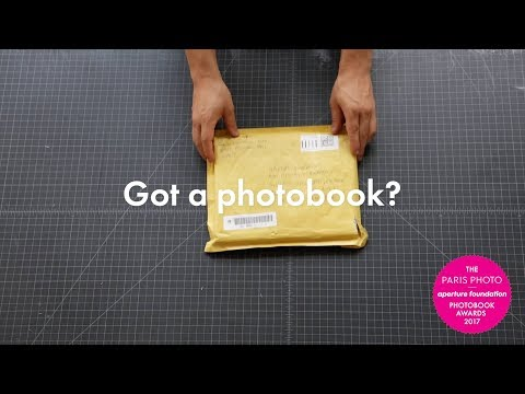 Photobooks arrive at Aperture for the 2017 PhotoBook Awards