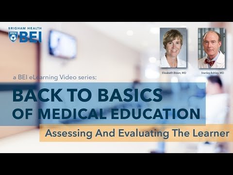 Assessing and Evaluating the Learner