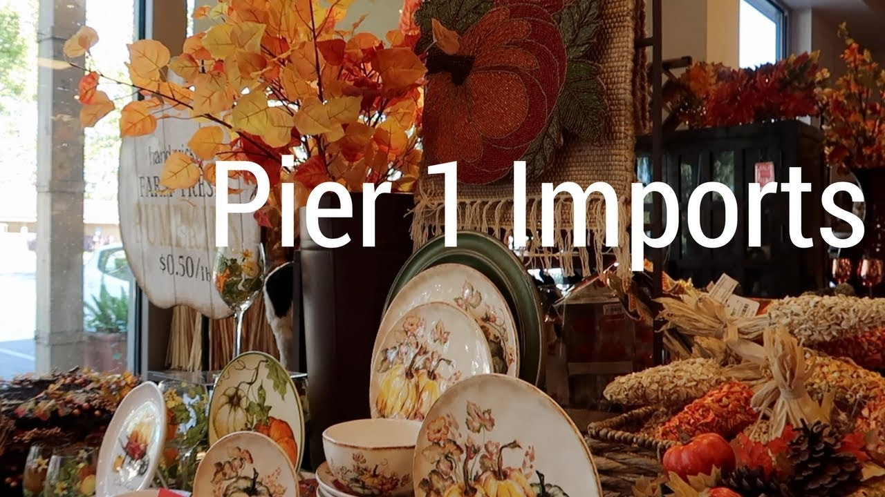 Browsing Pier Imports Fall Decor Ideas Youtube
