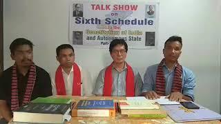 Sixth schedule talk show part 76,j.i.kathar,semson teron,longki