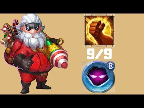 Santa Boom | 9/9 Brute Force | Castle Clash | What Do You Think