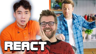 React: Uncle Roger HATE Jamie Oliver Egg Fried Rice