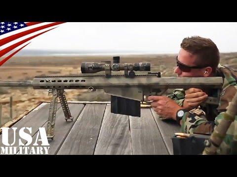 バレットM82 対物スナイパーライフル(12.7mm弾)