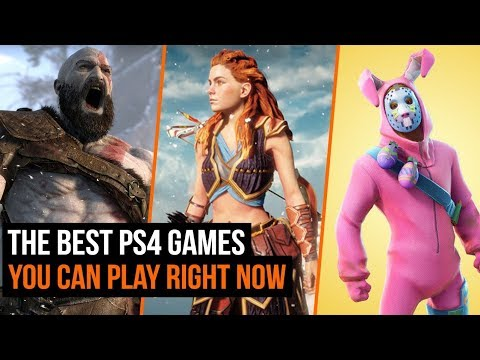 The Best Ps4 Games You Can Play Right Now Youtube