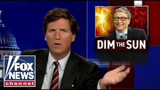 Bill Gates backs project to 'dim the sun', Tucker Carlson reacts