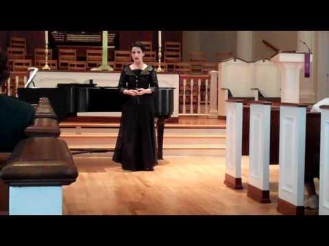 """Come unto Him"" From G. F. Handel's Messiah"